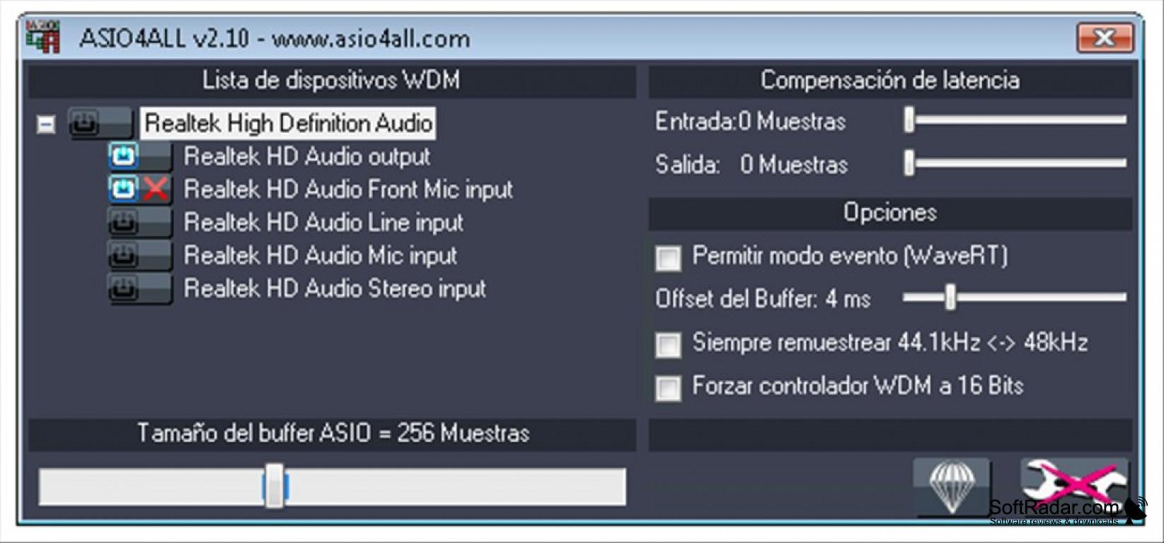 Asio driver windows 10 64