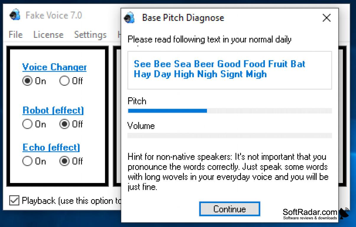 Download Fake Voice - Voice Changer 7 for Windows 10, 7, 8/8.1 (64 bit/32 bit)