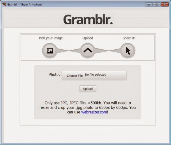 Download Gramblr for Windows 10, 7, 8/8 1 (64 bit/32 bit)