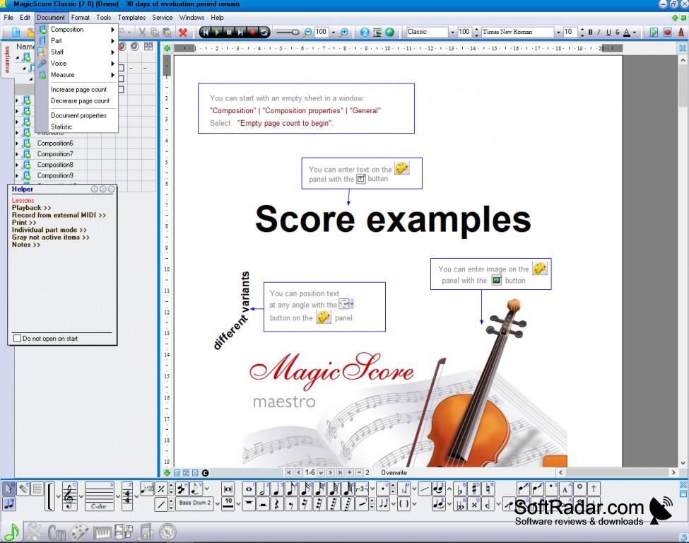 magicscore note 7
