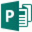 Microsoft Publisher 2016 logo