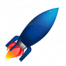 MP3 Rocket logo