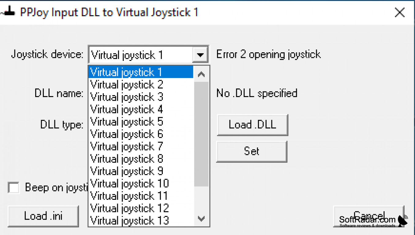 PPJOY JOYSTICK WINDOWS VISTA DRIVER DOWNLOAD