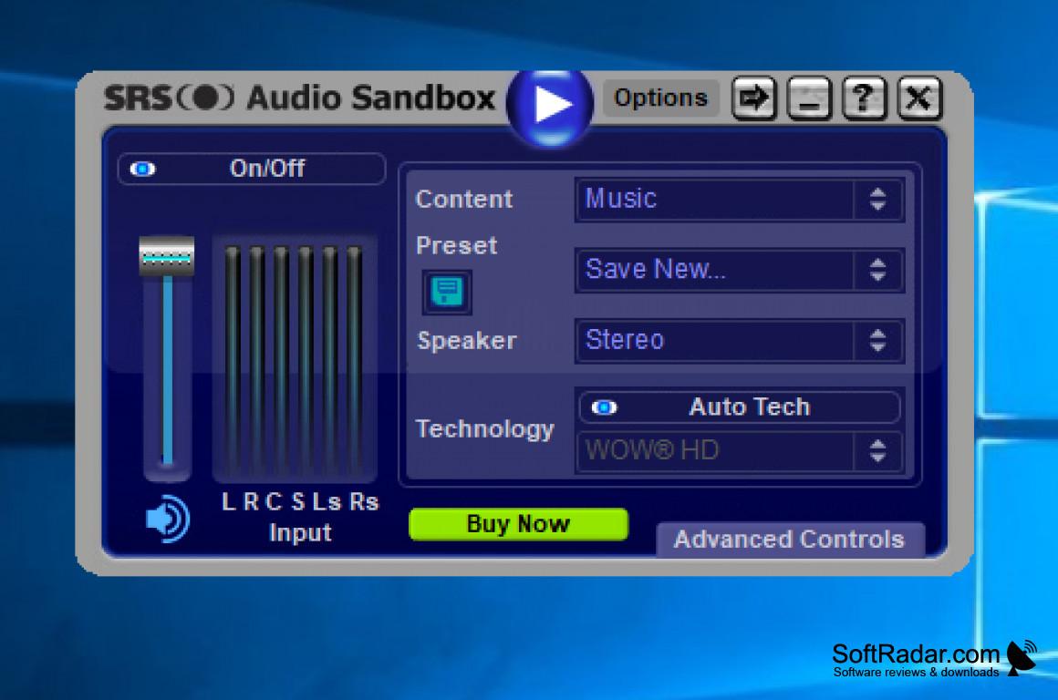 srs audio sandbox serial number