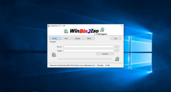 WinBin2Iso screenshot 1